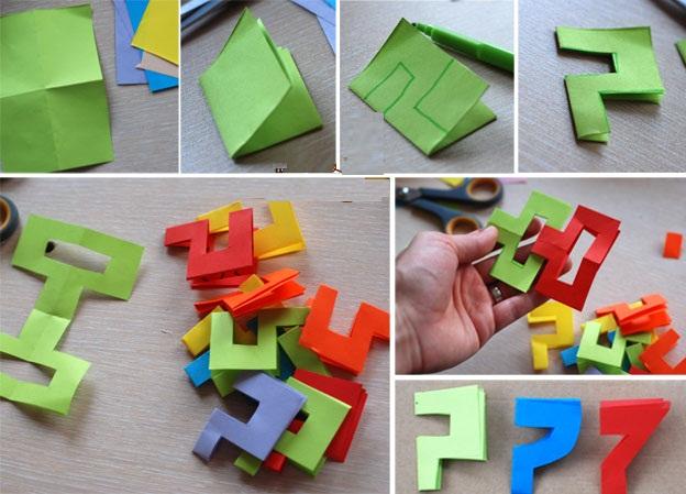 Как сделать гирлянду из бумаги своими руками детям