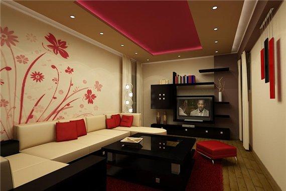Секреты создания интерьера гостиной в