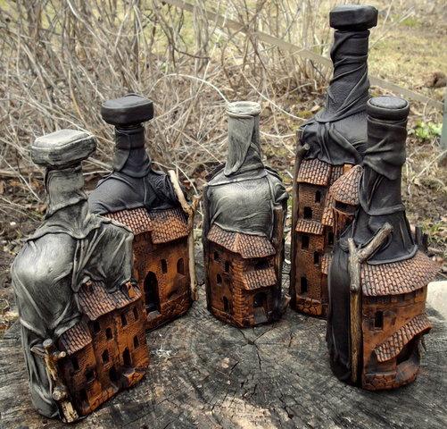 Поделка домик из пластиковых бутылок своими руками