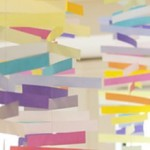 Гирлянды из бумажных полосок