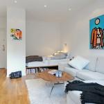 Вариант дизайна однокомнатных квартир
