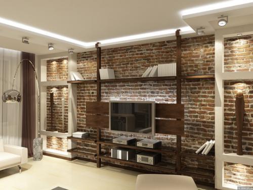 Лаконичная мебель для зала