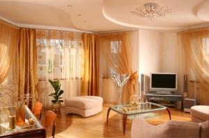 Роль освещения в интерьере зала