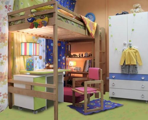 Дизайн детской в хрущевке