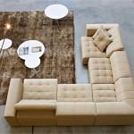Угловой диван в интерьер