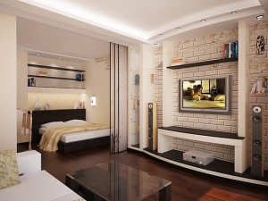 Дизайн однокомнатной квартиры-хрущевки