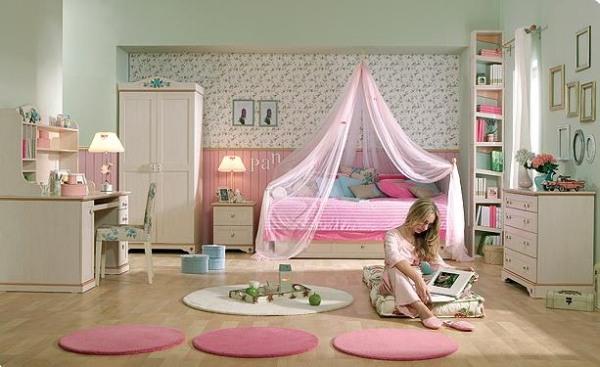 Дизайн комнаты для девочки подро