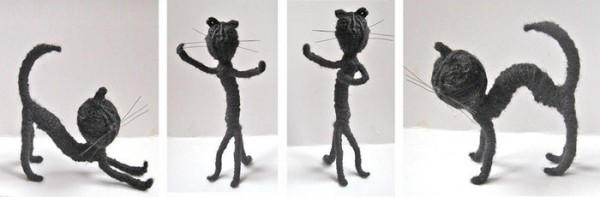 Гибкий шустрый котик