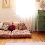 Ковёр и подушки