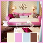 Комната в розовых тонах 2