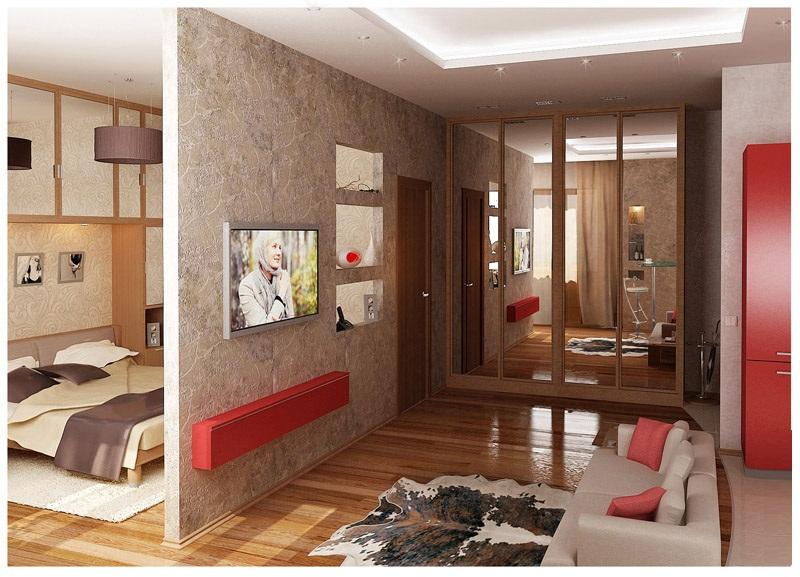 квартира студия дизайна интерьера фото