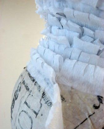 Шарики из бумаги своими руками из гофрированной