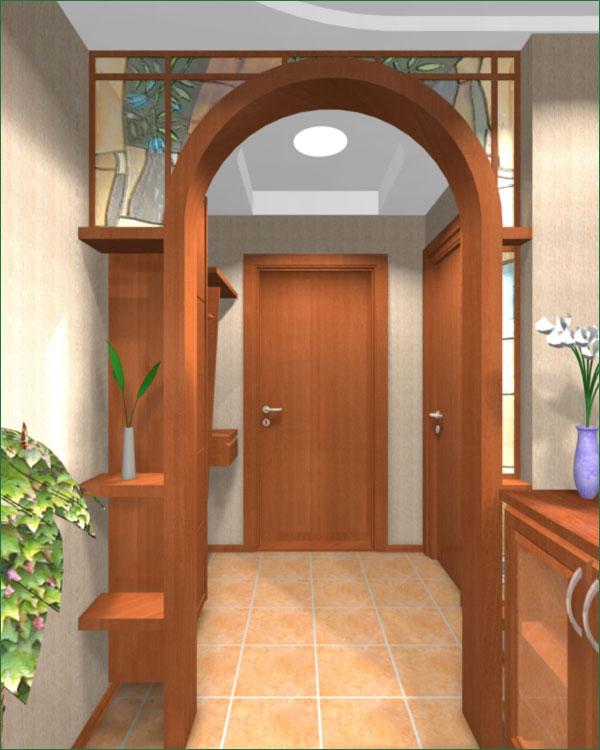 Интерьер коридор в доме