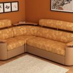 Маленький угловой диван