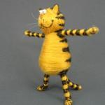 Довольный пузатый кот изготовление 14