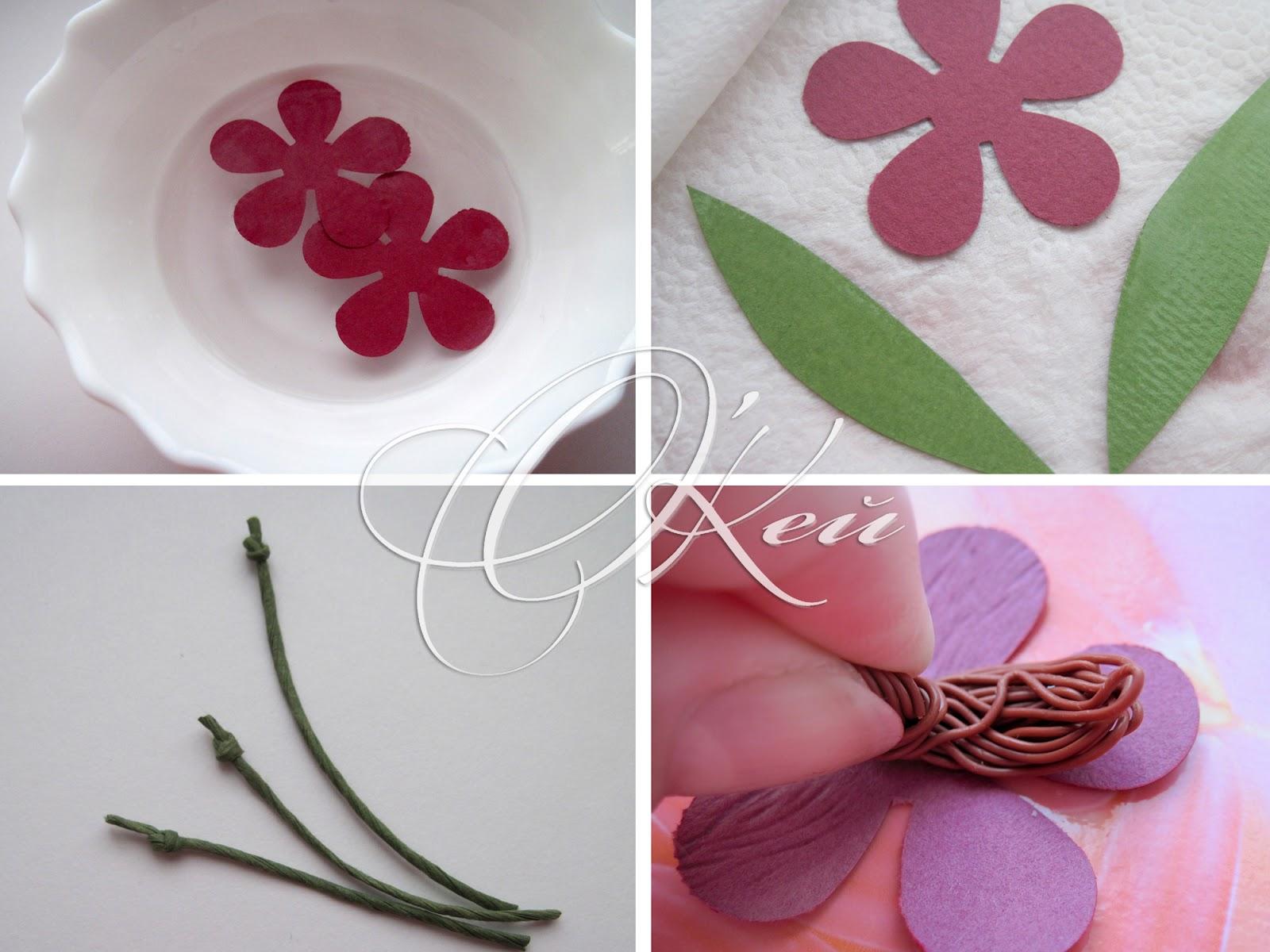 Цветы из салфеток своими руками тюльпаны