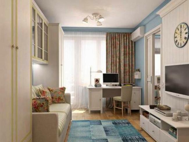 Интерьер для однокомнатной квартиры хрущевки