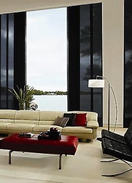 Стиль гостиной и шторы