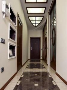 Узкий коридор в квартире