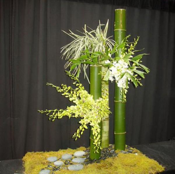 Сооружение цветочной композиции