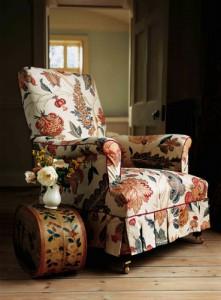 Кресло в викторианском стиле