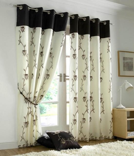 Curtains Ideas voile curtain : Какой дизайн штор для гостиной стоит ...