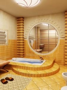 Ванная комната и Африка