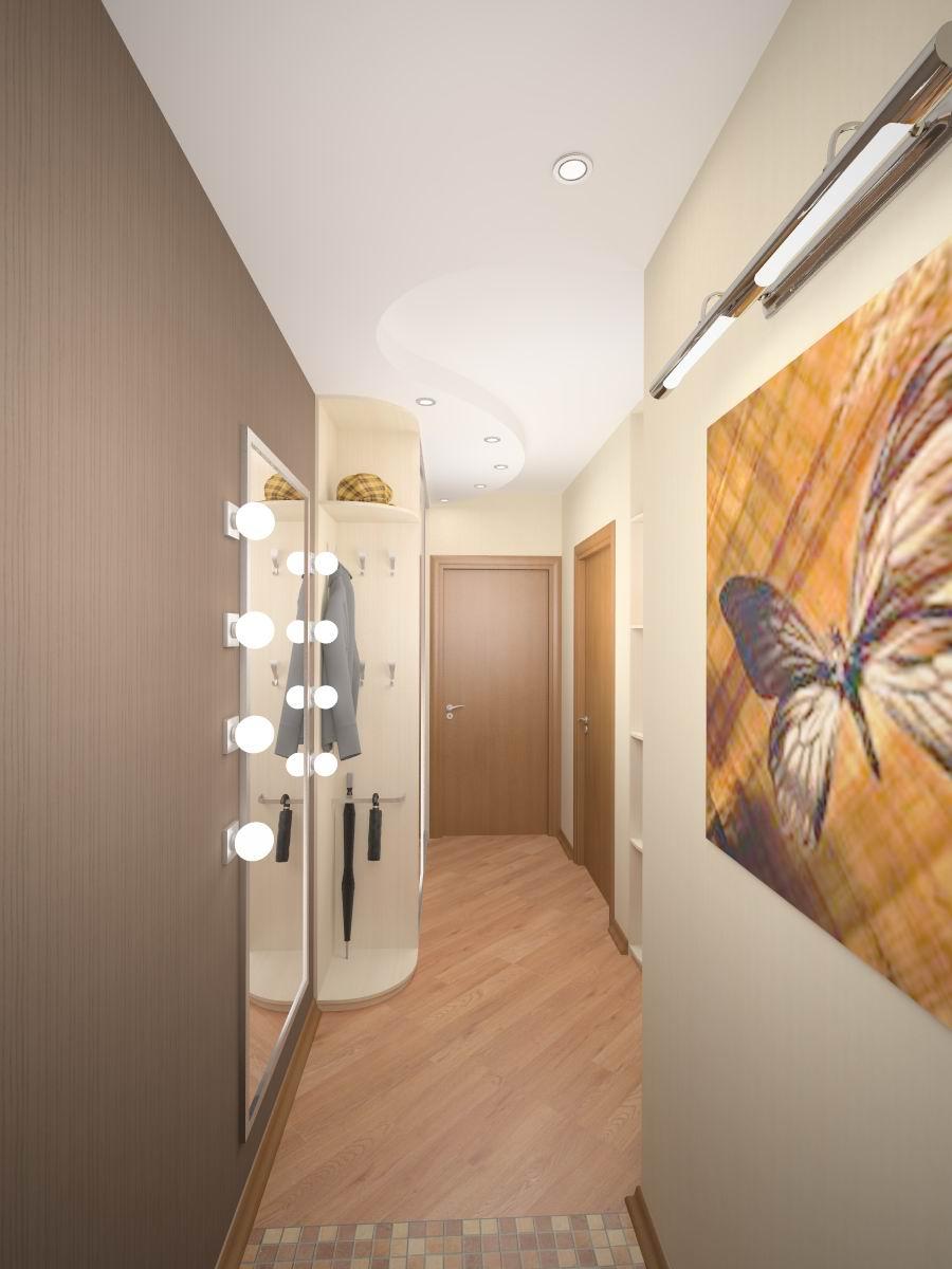 Дизайн или коридоров и прихожих