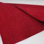 креповая бумага красного цвета