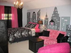 Стиль комнаты для девушки