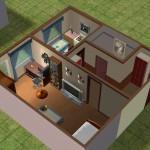 Примеры дизайна интерьера однокомнатной квартиры