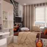 Интерьер комнаты для молодого человека