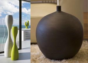 Цвет и форма ваз