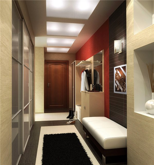 Модный дизайн в коридорах