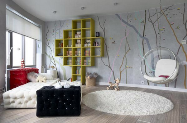 Выбор стиля и цвета для комнаты девушки
