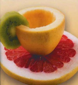 Чашка из яблока