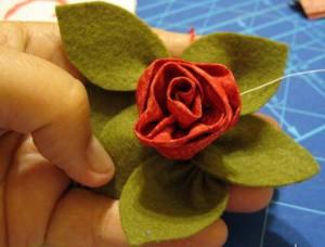 Роза с гладкими краями