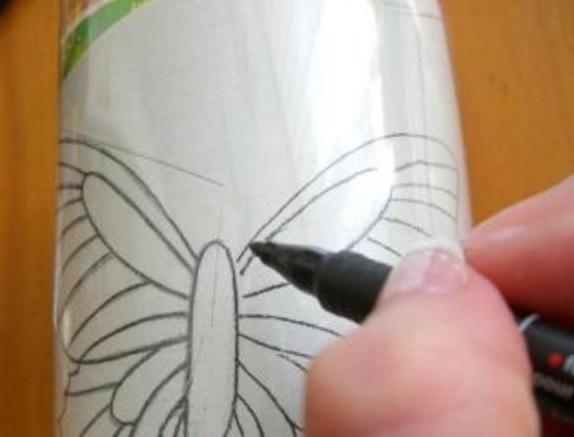 Трафарет для ногтей своими руками