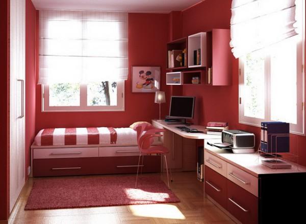 Мебель для комнаты девушки