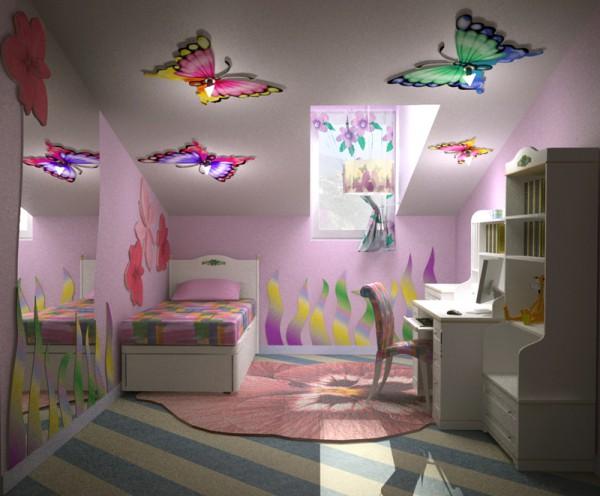 Бабочки на потолке, бабочки на окнах