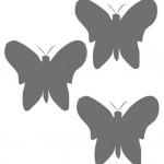 Пример бабочек в интерьере