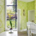 Интерьер в зеленом цвете