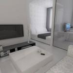 Разделение одной комнаты на функциональные зоны