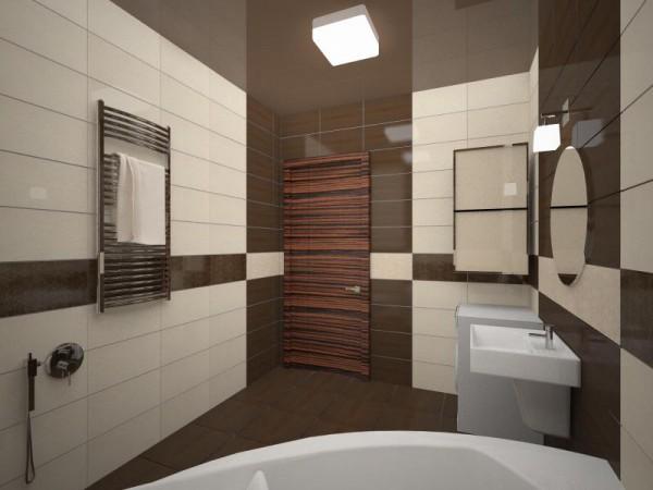 Дизайн ванной квартиры в панельном доме