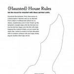 шаблон летучей мыши для Хэллоуина