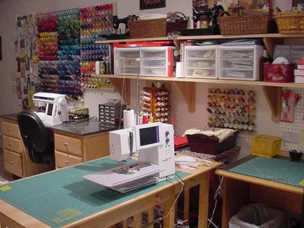 Швейный рабочий кабинет
