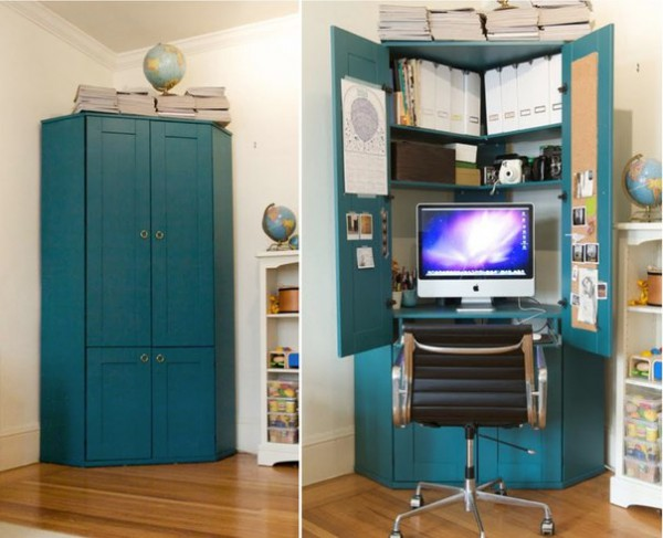 Рабочий кабинет-шкаф