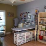 Дизайн рабочего кабинета для швеи
