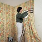 Декорируем стены тканью