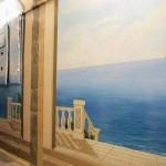 роспись стен подъезда